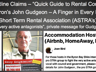 ILLEGAL SHORT-TERM RENTALS - WHO'S CALLING THE SHOTS?