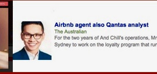 NSW GOVERNMENT / ASIC / AIRBNB / STAYZ / QANTAS – GOOD-BYE HOMES