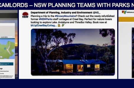 """""""SILENCE STOKES FEARS"""",As Planning Minister Rob Stokes' Department Colludes with Parks NSW & Destina"""