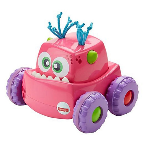 Caminhão Monstro Fisher Price - Rosa