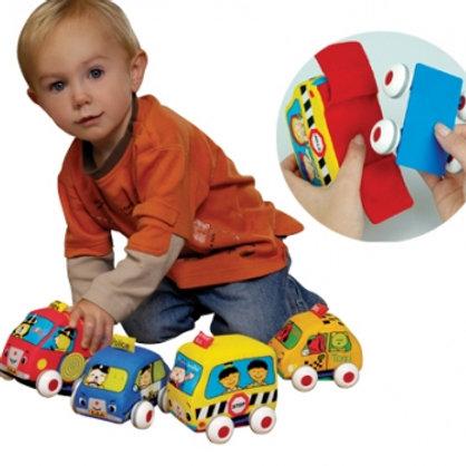 Carrinhos de fricção Ks Kids (4 carrinhos)