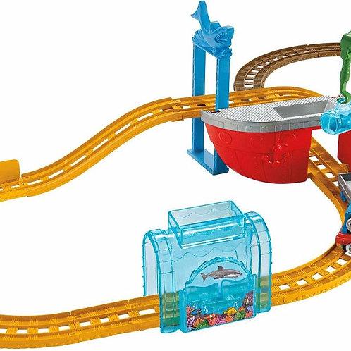 Thomas e Friends Mattel Ferrovia Aventura Tubarão