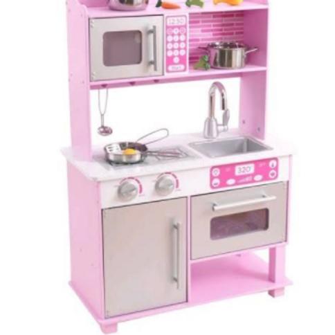 Cozinha de Madeira Rosa - KidKraft