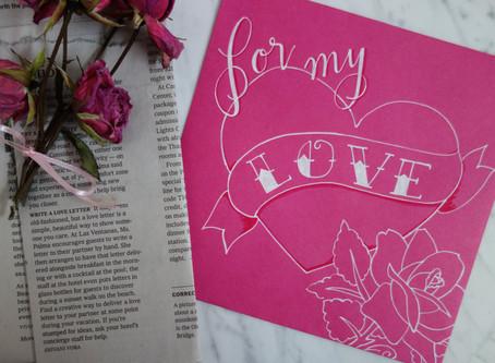 Love Letter Envelope Lettering Tutorial