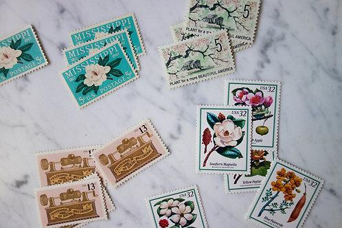 Vintage Stamp Curation
