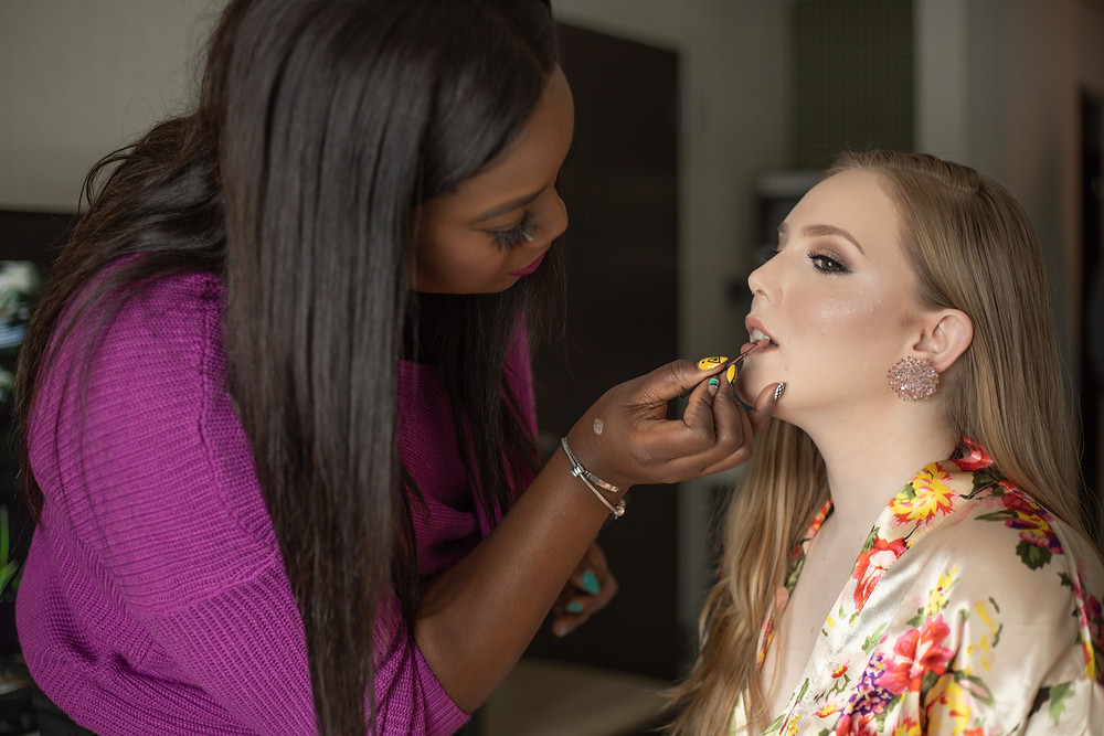 Tanaya Johnson Makeup Artistry | Seversky Mansion Wedding