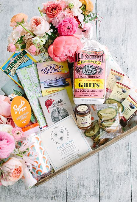 Make Your Own Wedding Welcome Baskets
