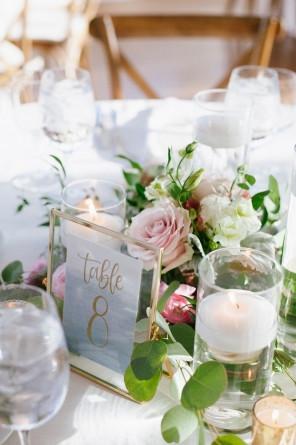 Incorporating Agate Slices into a Coastal Long Island Wedding