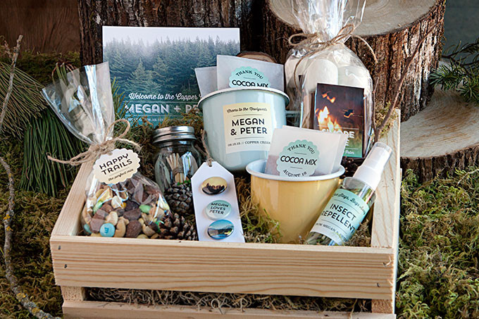 Create Your Own Wedding Welcome Basket