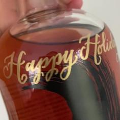 Legent Bottle Calligraphy