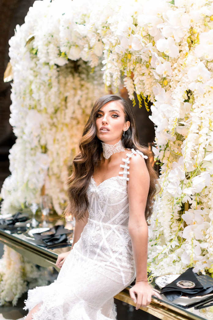 A Glamorous Wedding at The Foundry