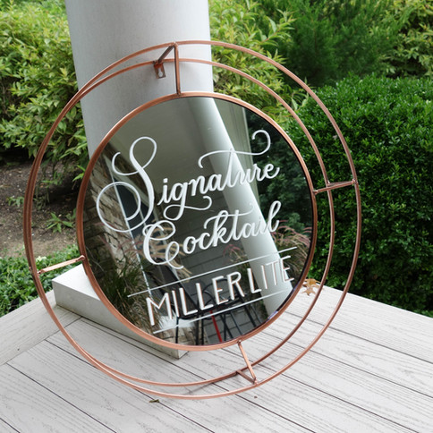 Signature Cocktail Wedding Sign