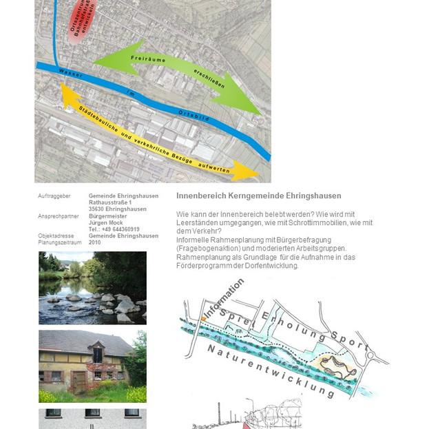 Ehringshausen, Entwicklung Innenbereich