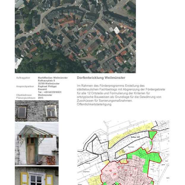 Weilmünster, Dorfentwicklung