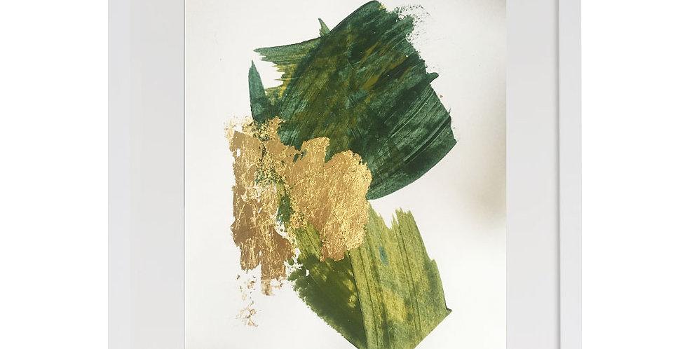 A3 Textured Print - Green (004)