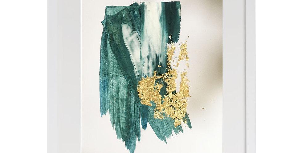 A3 Textured Print - Blue (002)