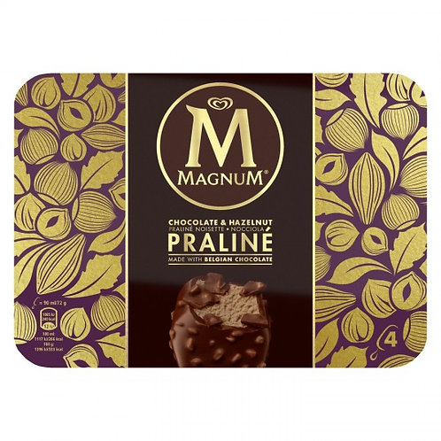 Glace Magnum Praliné