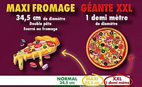 livraison pizza géante à marseille