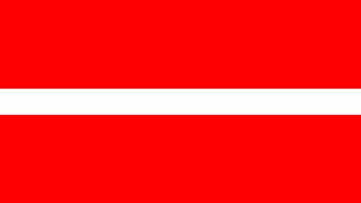 Bandeira da Letonia