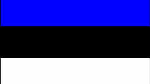 Bandeira da Estonia
