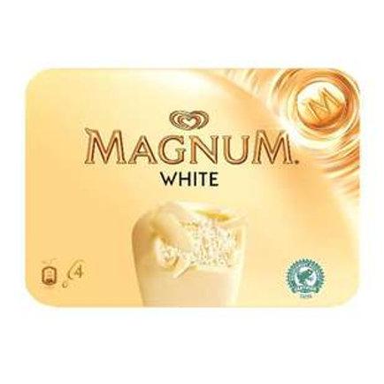 Glace Magnum Chocolat blanc
