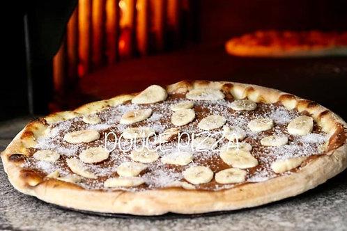 Pizza Nutella Banane Coco