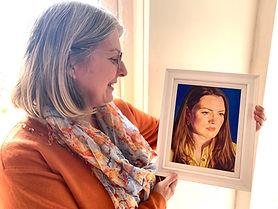 Portrait of Joanne by Beverley Healy