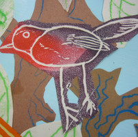 Printmaking and Collage