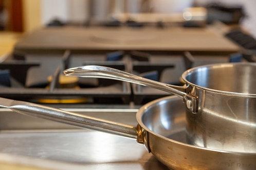 Rijstschotel met wok