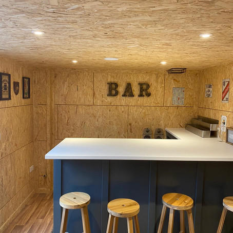 Shed & Bar Installation