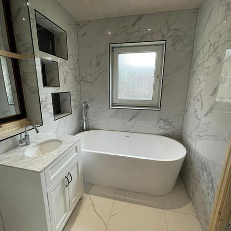 Summer Hill - Bathroom installation