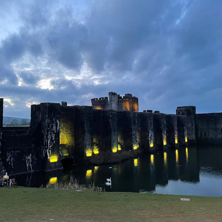 National Day of Reflection - Caerphilly Castle
