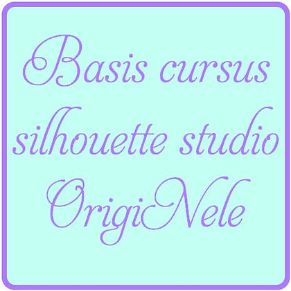 Beginners cursus silhouette Studio software