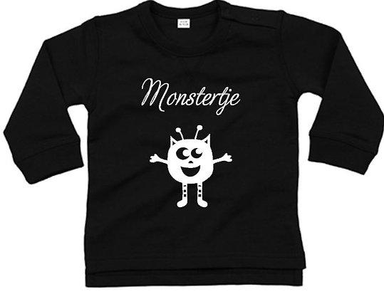 Longsleeve monstertje (baby's)