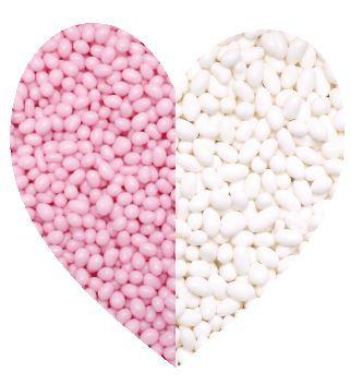 Tic tac snoepjes mix roze/wit 500 gram