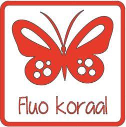 Flex fluo koraal A0067