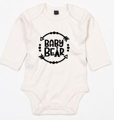 Romper baby bear