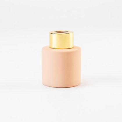 Parfumflesje roze/goud (met stokjes)