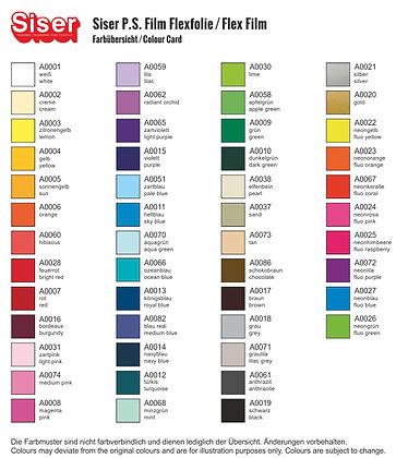 Kleurenkaart Flex