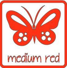 glans vinyl MEDIUM ROOD RI132