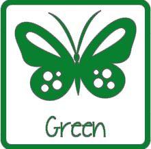 matte vinyl groen