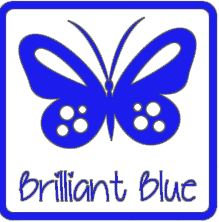matte vinyl koningsblauw