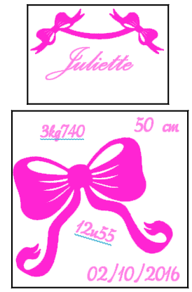 sticker Juliette