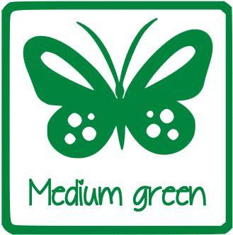 glans vinyl MEDIUM GROEN RI180