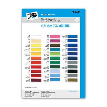 Kleurkaart M300-series