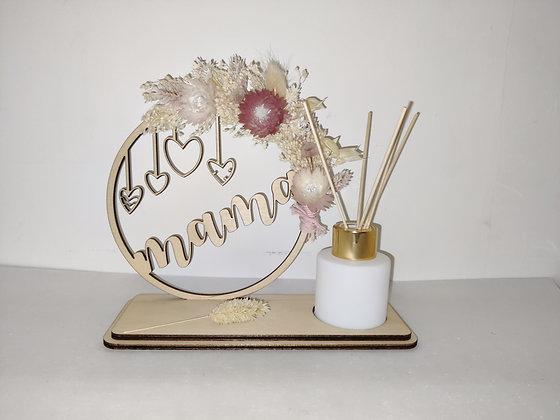 Cirkel mama bloem en parfum