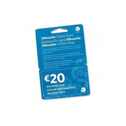 Downloadkaart €20