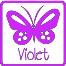 glans vinyl VIOLET RI150