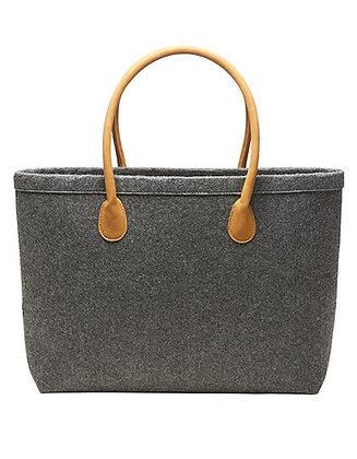 Handtas vilt luxe grijs