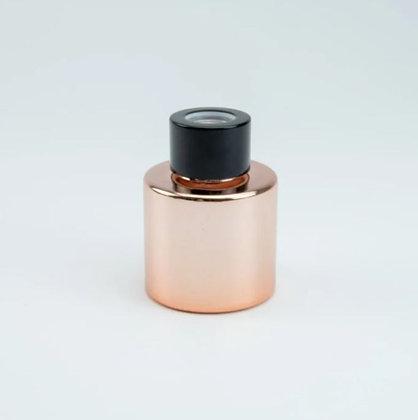 Parfumflesje rosé/goud (met stokjes)